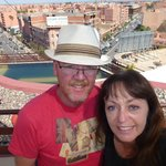 Here we are looking out over the Medina