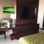 tv/sitting area