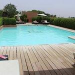 piscine de la terrasse (3ème étage)