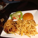 1/2 pound Kobe beef burger w/ Fries