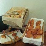 El pan del desayuno