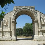 Triumphal arch at Glanum