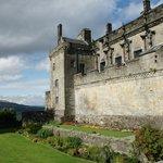 Dentro do castelo