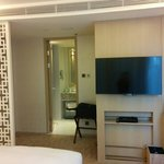 Deluxe room. Sony TV with HD channels.