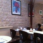 O acolhedor espaço do café no Albe.
