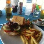 Burger, Thai style.