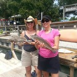 Ladies scored big with flounder and Red Drum in Murrells Inlet SC
