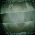 Dirty decorative pillow