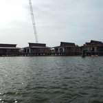 view of DVC construction from ferry
