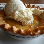 Peach cobbler  By Nina Davis