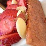 Dessert à la fraise ....miam
