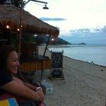 Beach front lougne