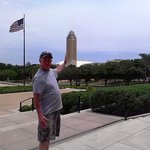 The view from the front of the Amon Carter Museum