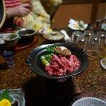 Fantastic Hida beef steak dinner option