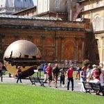 Pátio do Museu do Vaticano