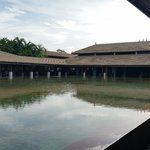 Reflective pond