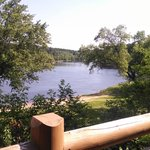 View of the Wisconsin River from our deck.
