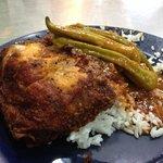 My meal - yummy yummy chicken!!!