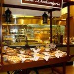 Gorgoeus Bread station! in dining area