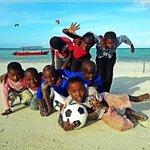 Kids at Zanzibar