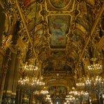 O Grand Foyer, um luxo!