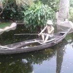 Lago e Jardim do Restaurante Mangai - RN