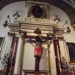 el Cristo del Consuelo, muy venerad por los capitalinos