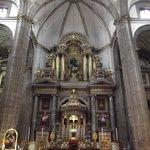 altar mayo diseñado por Don Manuel Tolsá