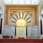 Inside Granada mosque