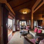 Lotus Villa Sitting Area