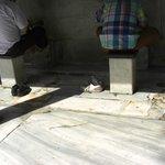 Piletas para ablucion,Mezquita Azul