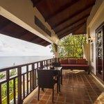Orchid Villa Balcony View