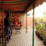 Toit Terrasse avec tente berbere