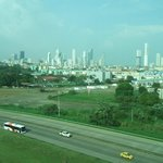 View of Panama Skyline from room