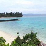 Malipano island private beach area
