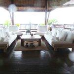Malipano villa -living room