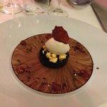 delicious chocolate desert