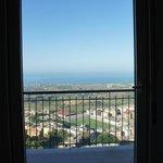 il panorama dalla camera