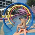 Wet playground !!