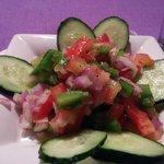 Ensalada MArroquí  (priemr plato del menu)