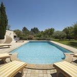 la piscine du Mas Saint Michel
