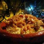 Cuscus (segundo plato del menu)