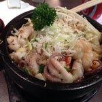 seafood hot pot ! delicious!