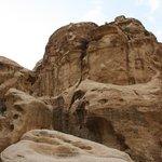 Pequeña Petra a la tarde