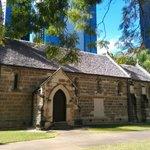 Sandstone chapel built around 1850
