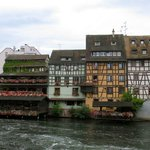 Houses next to the river