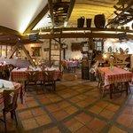 La salle du restaurant Aux Trois Oies