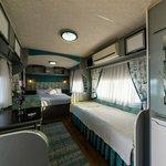 3 kişilik karavan tipi oda