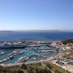 Prachtig zicht op de haven, Camino en malta