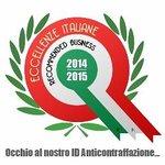 Certificato Eccellenze Italiane 2014/2015